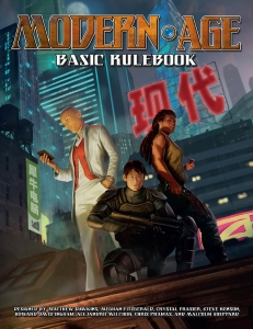 Modern AGE RPG Basic Rulebook