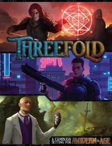 Threefold: A Modern AGE RPG Setting